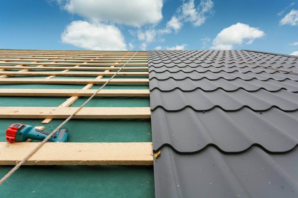 Re-Roofing (Retrofitting) Metal Roofs-Port St. Lucie Metal Roofing Company