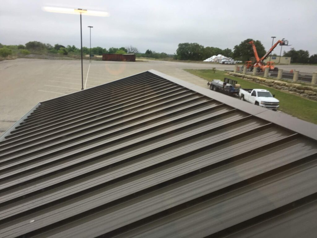Tapered Panels Metal Roof-Port St. Lucie Metal Roofing Company
